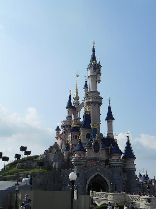 Free stock photo of castle, disney, disneyland paris castle