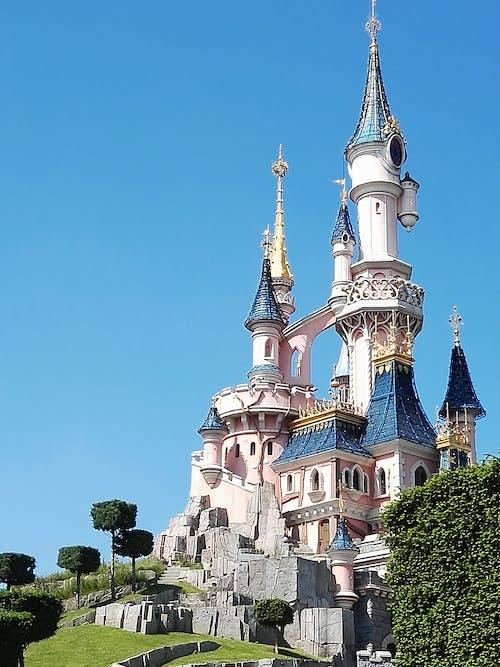 Free stock photo of castle, cinderella, disney