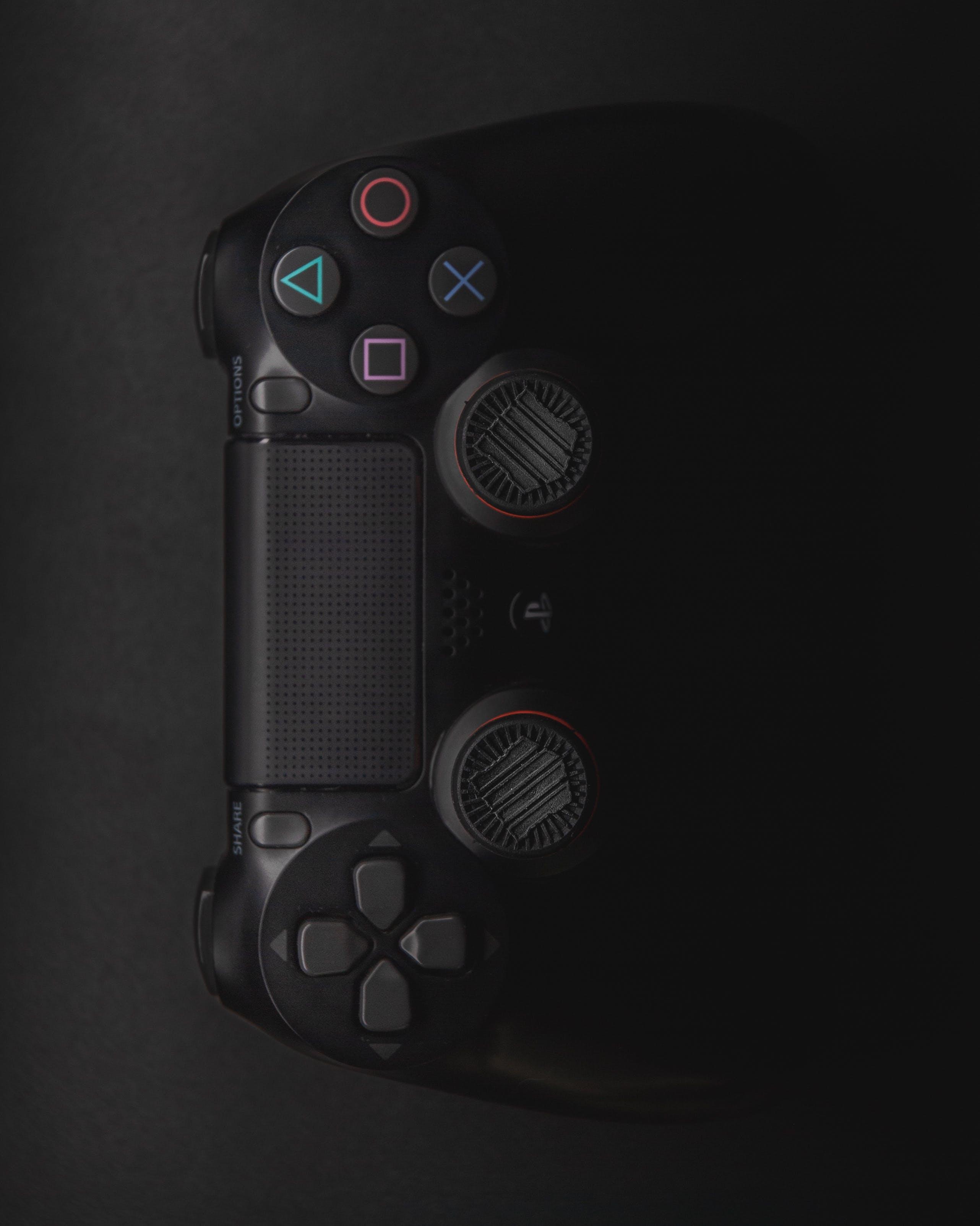 Black Sony Dualshock 4