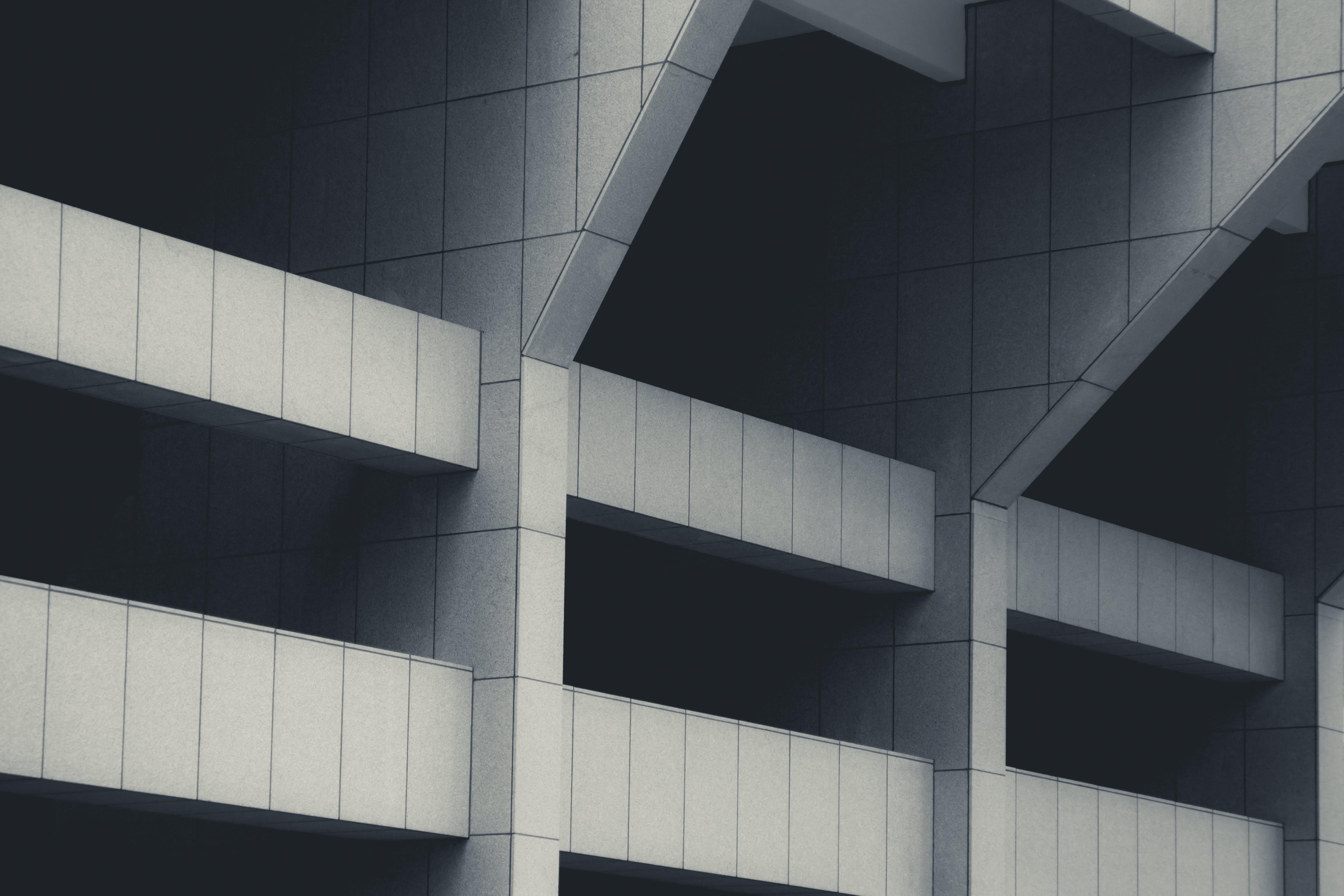 城市, 多層建築, 幾何, 建築物正面 的