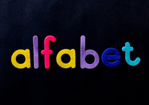 Gratis arkivbilde med alfabeter, barn, design, farge