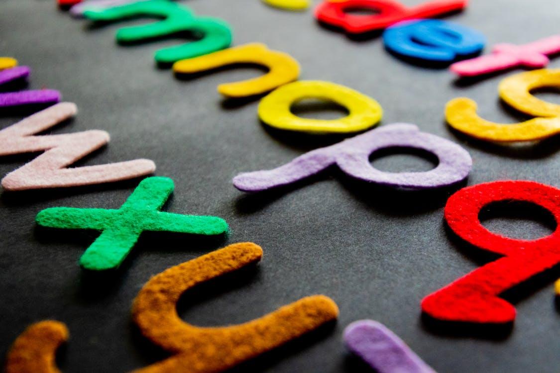 Assorted-color Alphabet