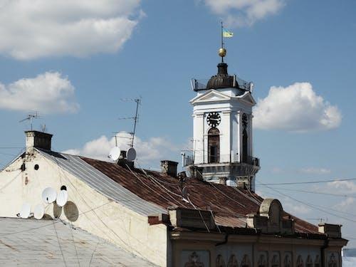 Kostnadsfri bild av arkitektur, chernivtsi, gammal stad, himmel