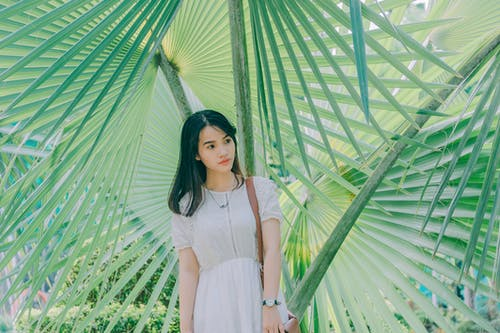 Kostenloses Stock Foto zu asiatin, asiatische frau, entspannung, fashion