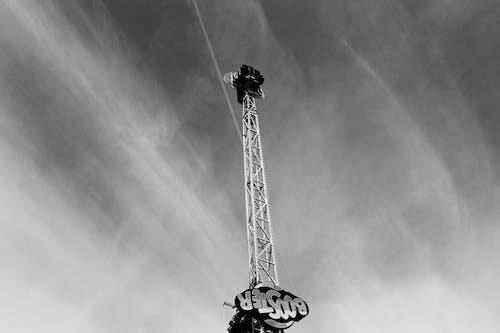 Darmowe zdjęcie z galerii z chmury, czarno-biały, malowniczy, niebo