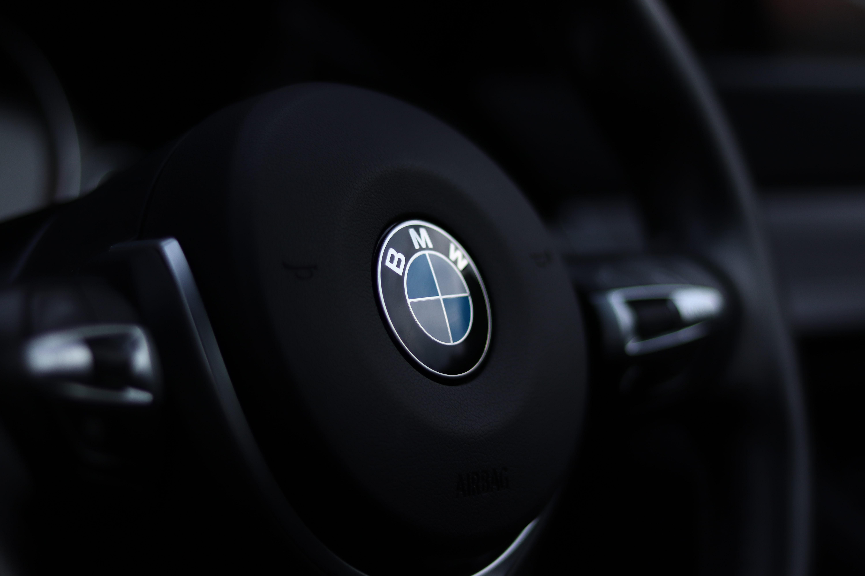 Bmw Steering Wheel Free Stock Photo