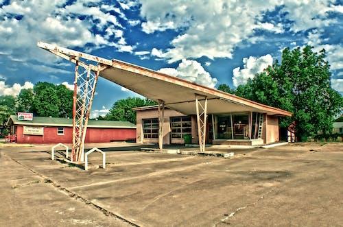 Free stock photo of angular, angular building, retro
