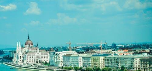 Fotos de stock gratuitas de arquitectura, azul, buda, Budapest