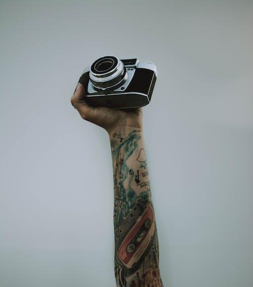 Fotos de stock gratuitas de adentro, Arte, cámara, electrónica