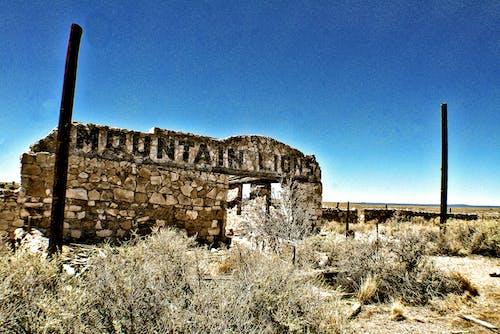 Free stock photo of abandoned, abandoned building, desert