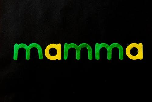 Kostnadsfri bild av bokstäver, färger, närbild, Skära ut