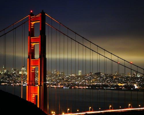 Foto d'estoc gratuïta de pont Golden Gate
