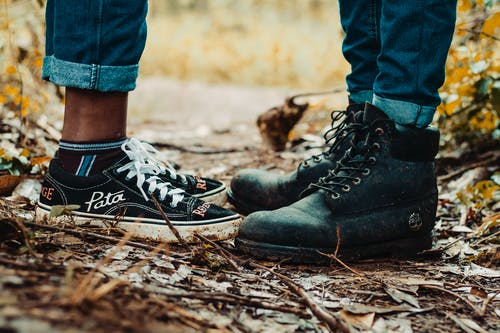 Woman and Man Shoes Photography