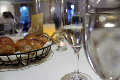 Free stock photo of bread, wedding table, wine