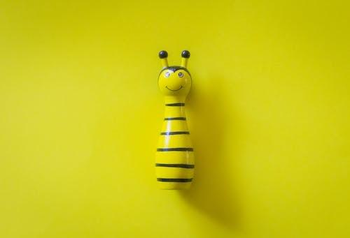 Immagine gratuita di ape, colori, design, giocattoli di legno