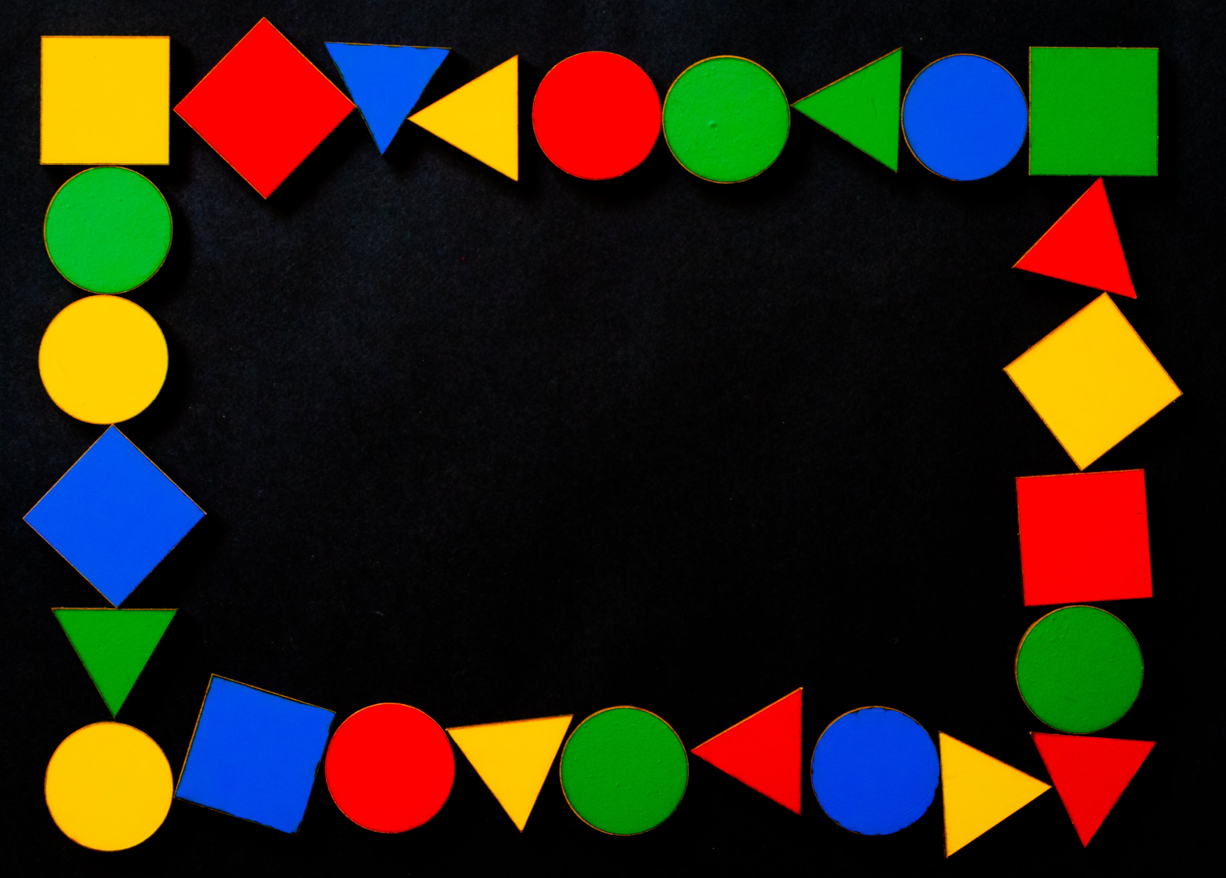 Photo Of Assorted Color Shapes