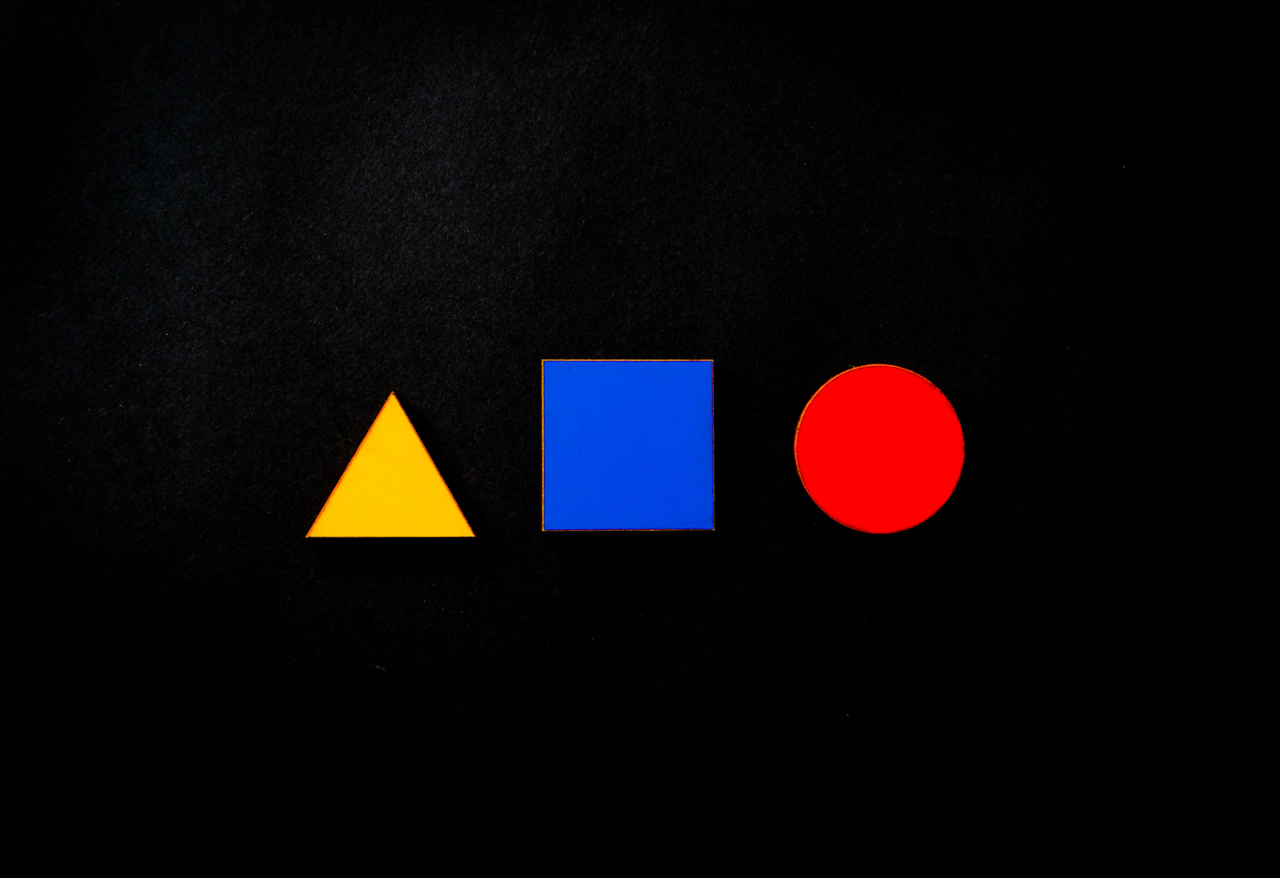 Assorted Color Shapes