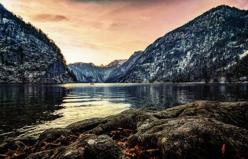 Δωρεάν στοκ φωτογραφιών με Ανατολή ηλίου, αναψυχή, Βαυαρία, βουνά