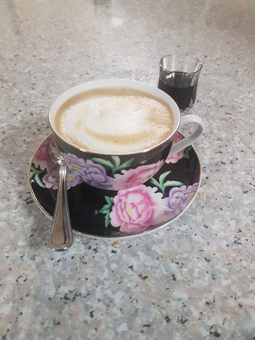 Free stock photo of coffee, Night cap, teacup