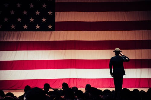 Základová fotografie zdarma na téma Americká vlajka, Amerika, armáda, den veteránů