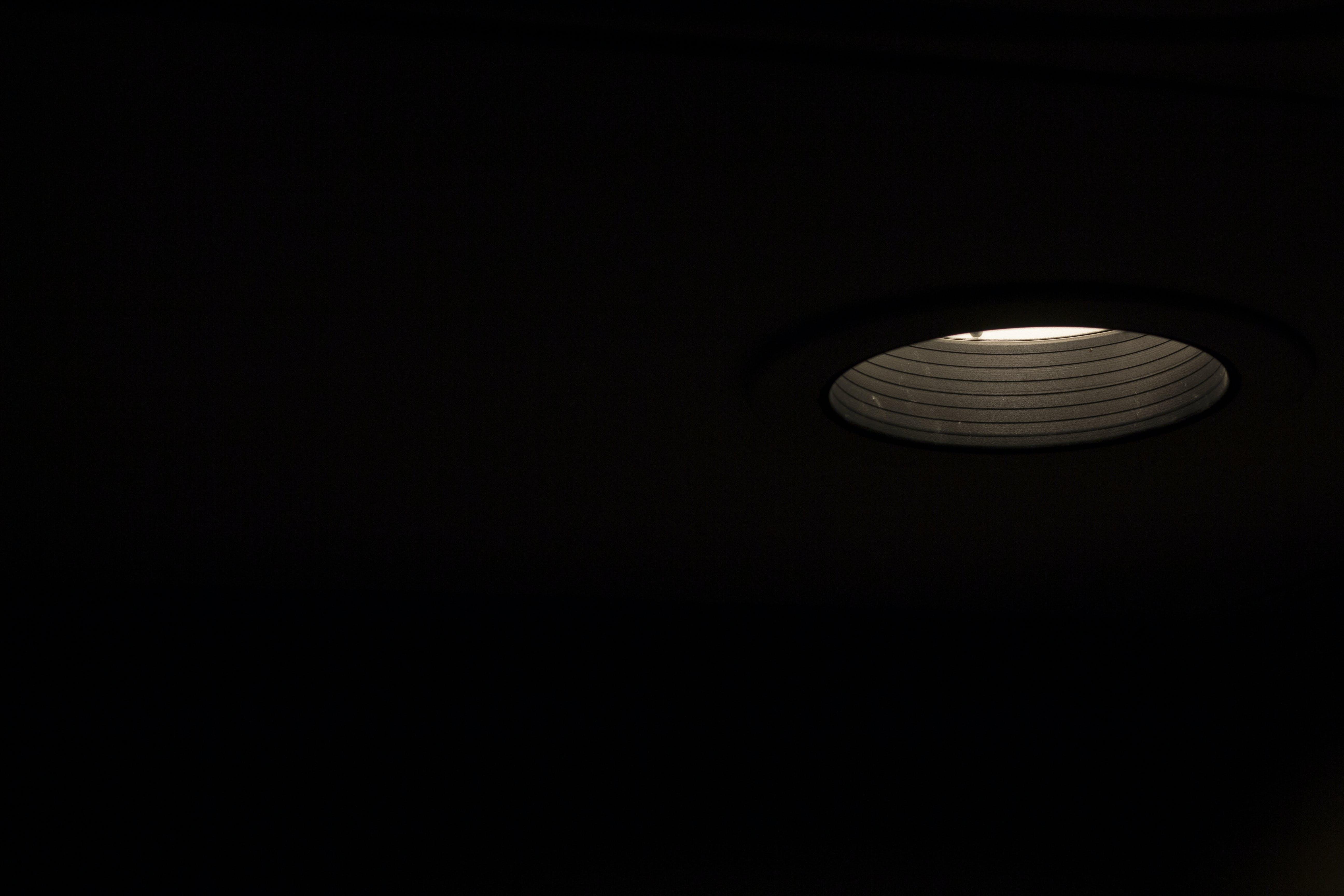 Free stock photo of dark, lamp, light, room