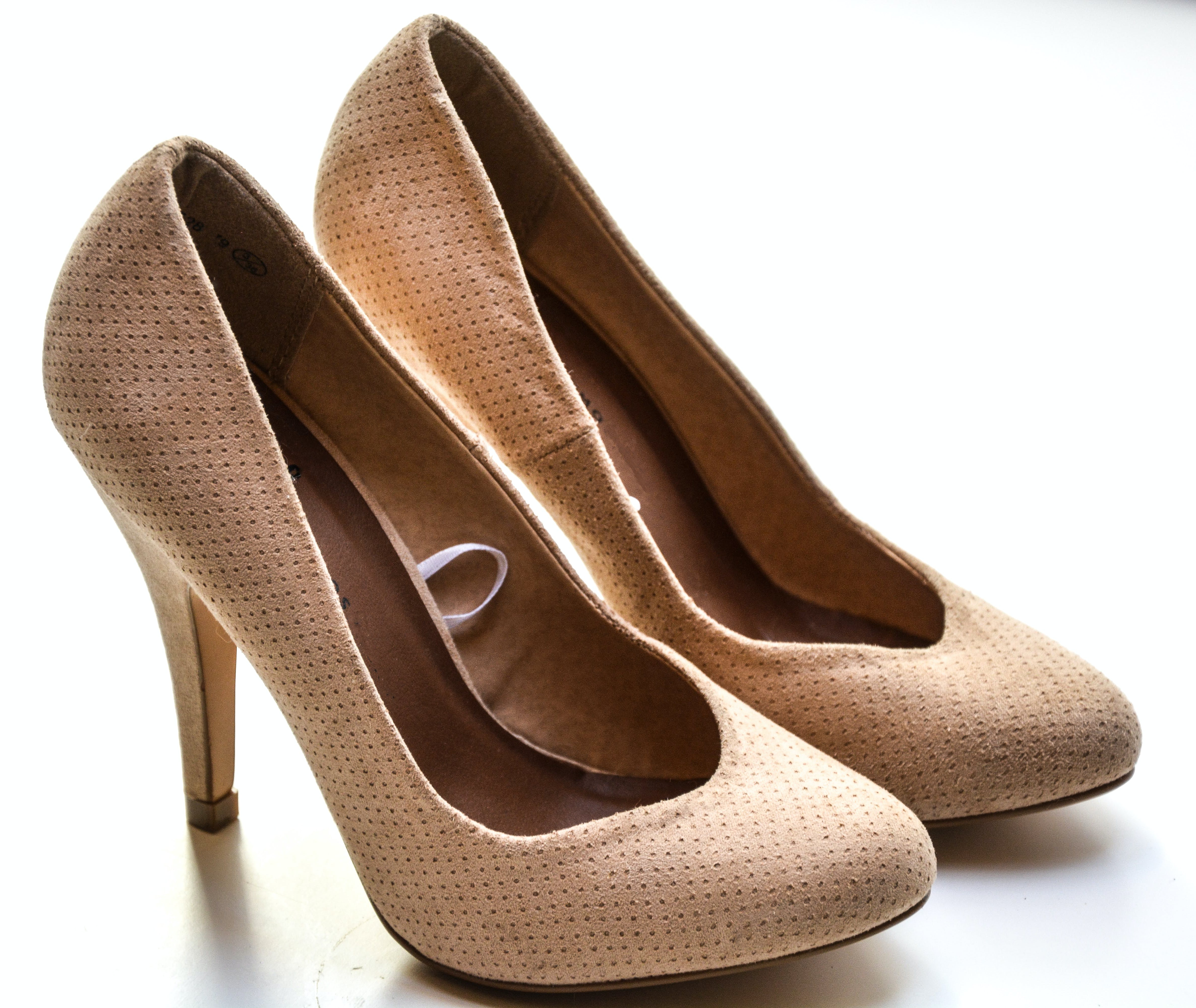 Women's Beige High Heels