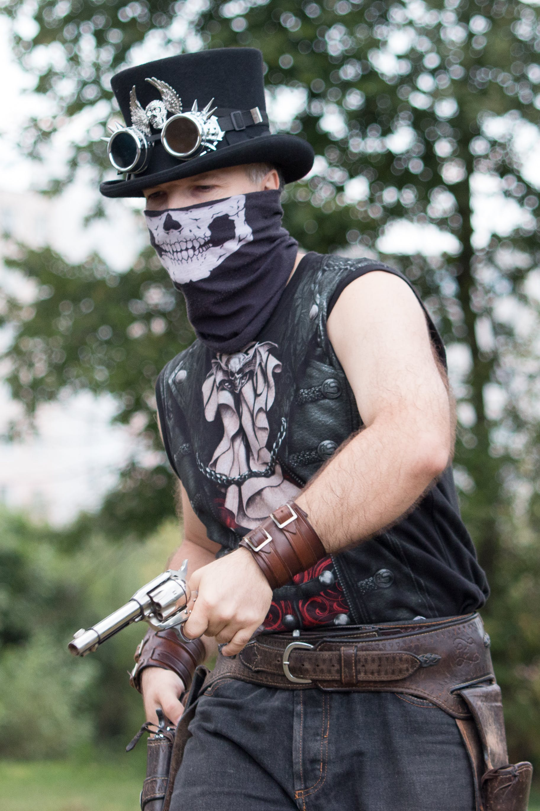 Free stock photo of gunman