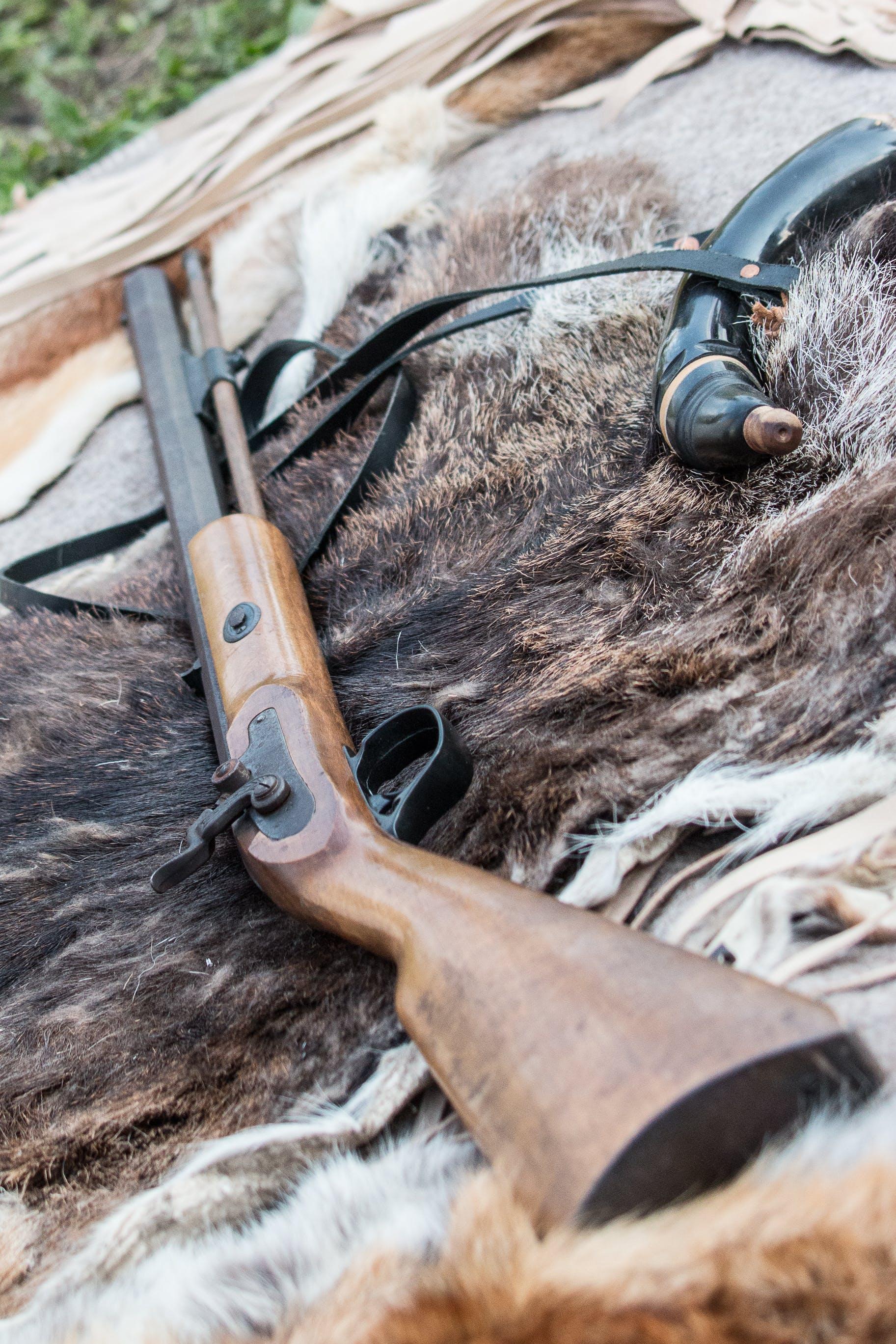 Kostenloses Stock Foto zu gewehr, perkussionsgewehr
