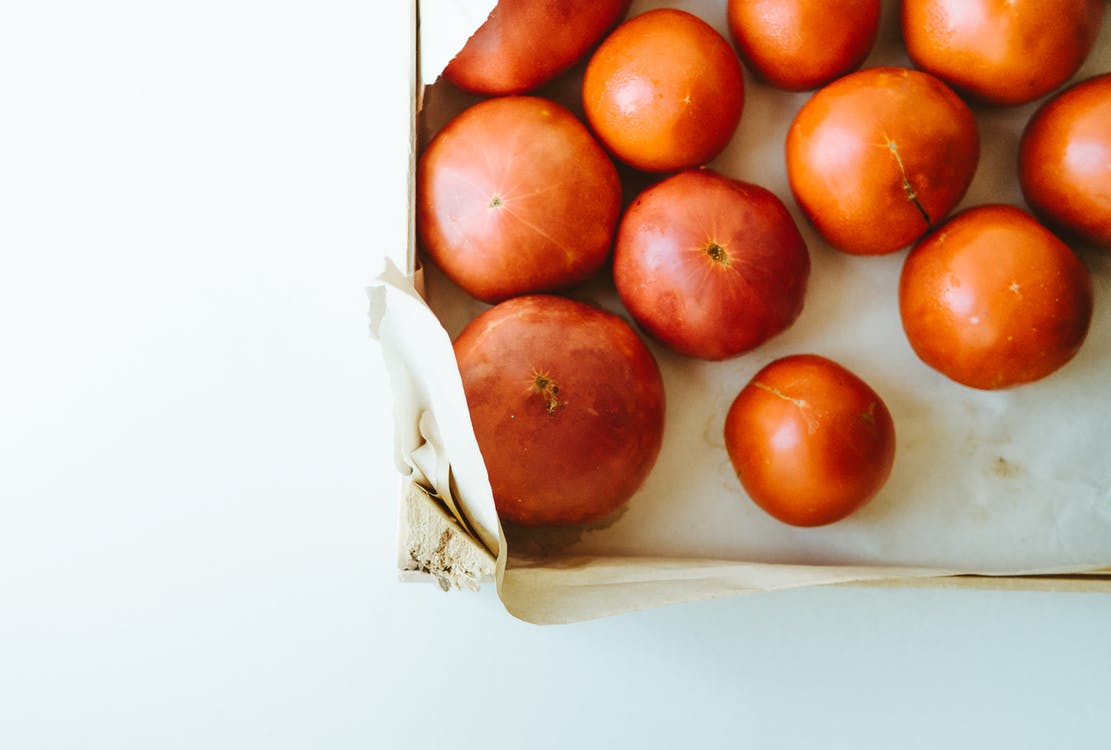 Kutu, lezzetli, meyveler