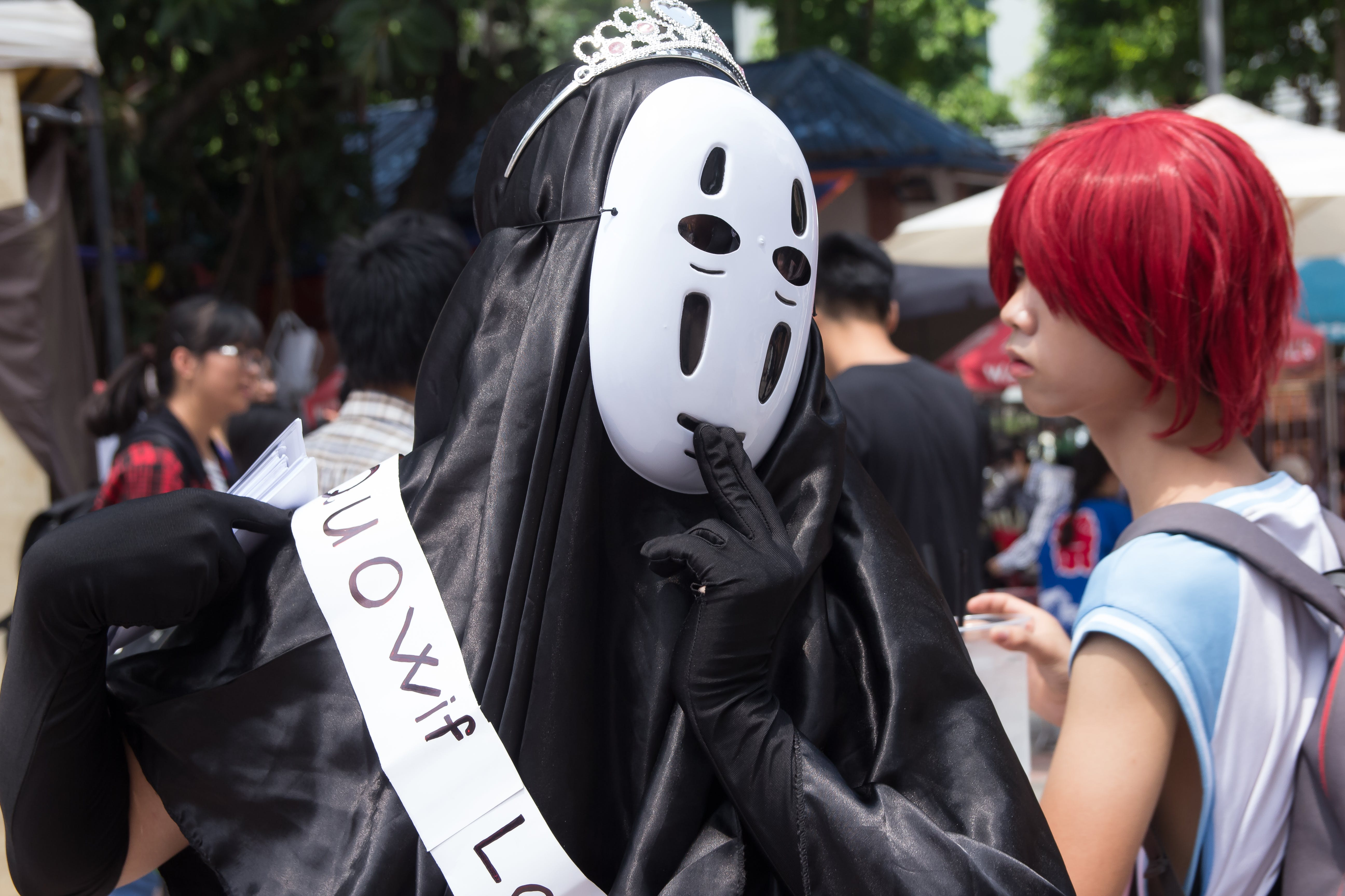 Photo Of No Face Costume