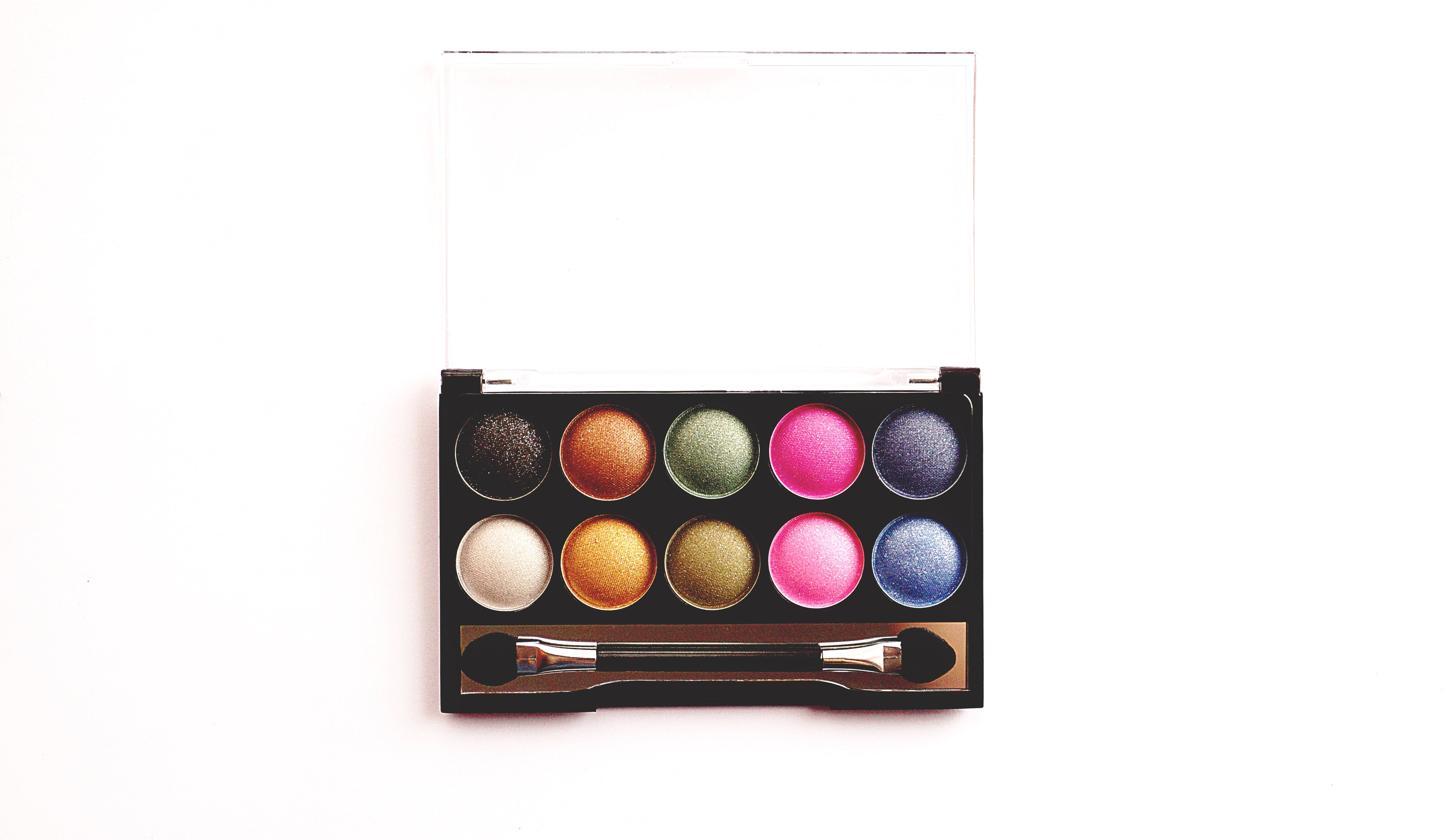 Free stock photo of colorful, colourful, make-up, palette