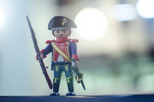 Free stock photo of light, playmobil, soldier