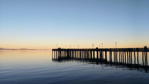 Free stock photo of pier, Rio Guaiba, water