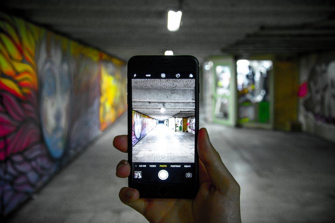 capture, graffiti, lights