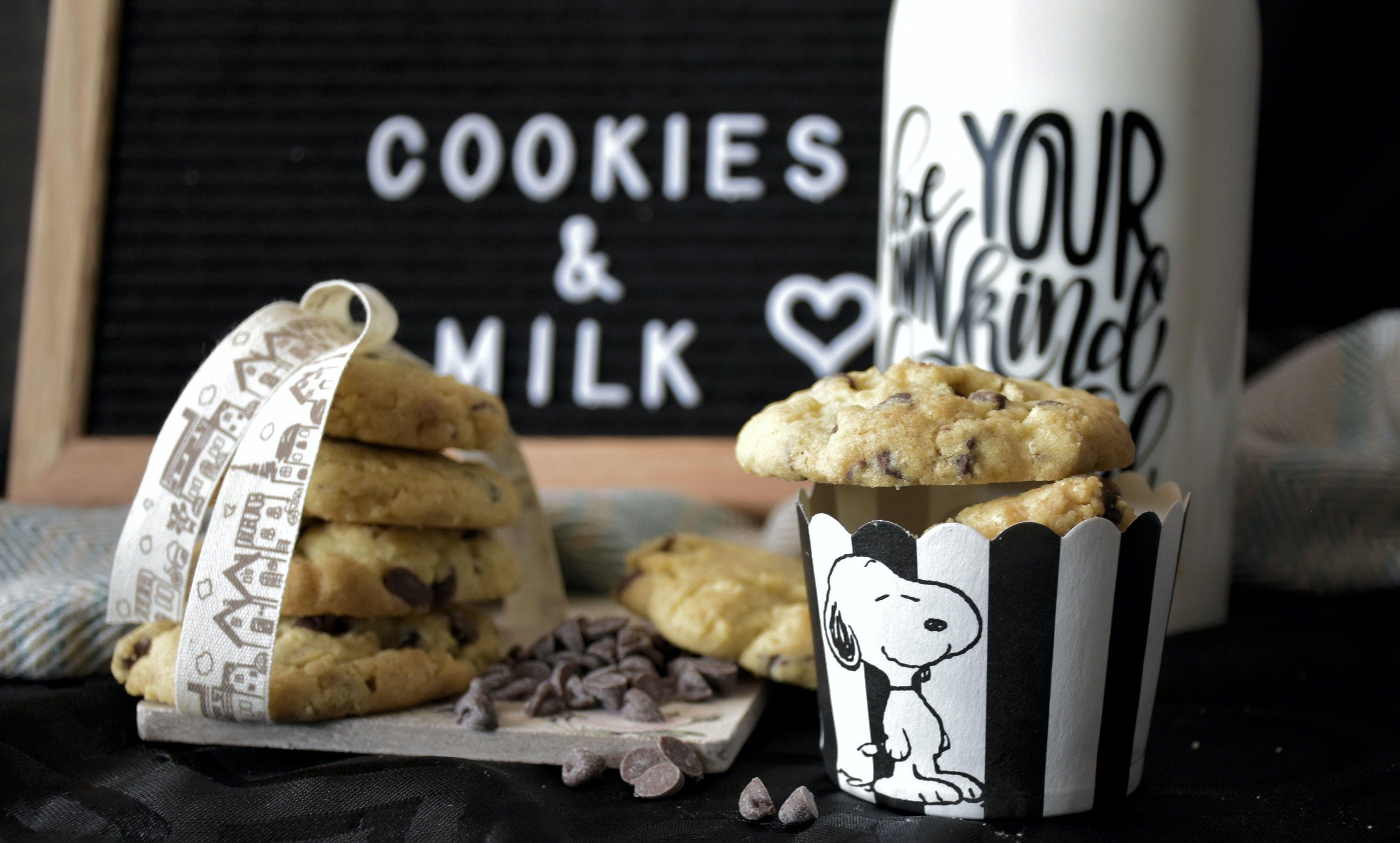 Fotobanka sbezplatnými fotkami na tému chutný, čokoládové sušienky, cukrársky výrobok, jedlo