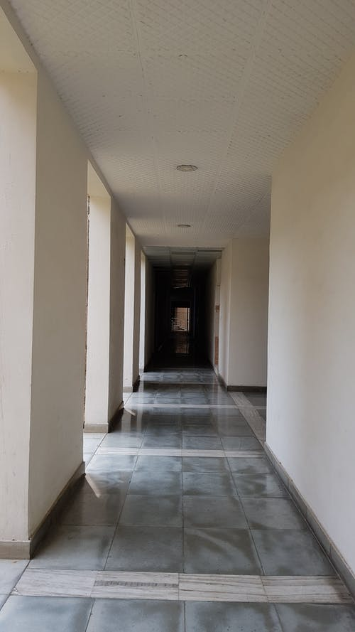 Free stock photo of corridor, stone floor, sunlight