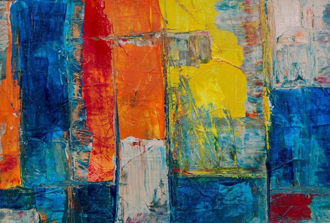absztrakt expresszionizmus, absztrakt festmény, design