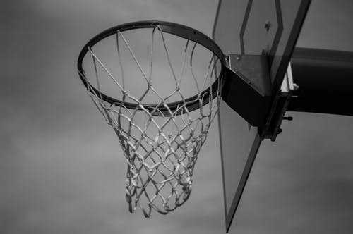 Free stock photo of arches national park, basketball, Basketball Hoop, black and white