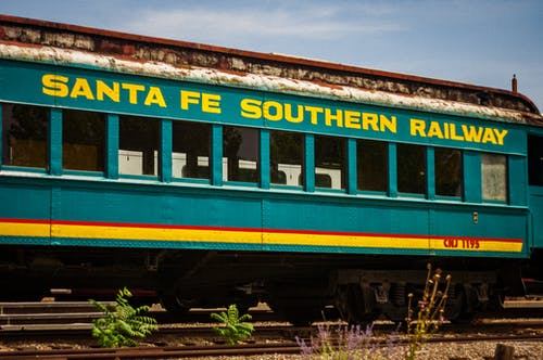 Free stock photo of New Mexico, santa fe, train, train station