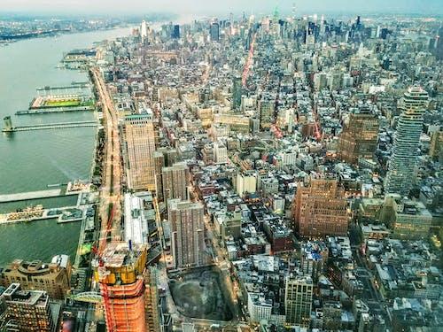 Gratis stockfoto met amerika, antenne, architectuur, binnenstad