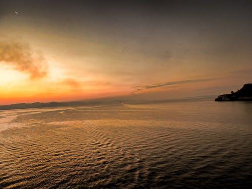 アドリア海, 夕日, 海の無料の写真素材