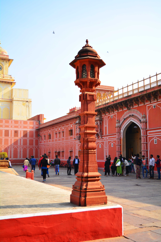 Free stock photo of carved stones, city palace, india, Jaipur