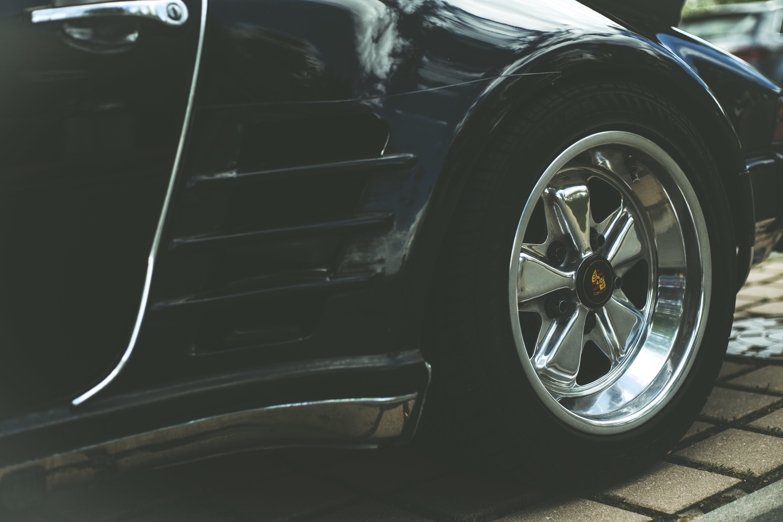 Closeup Photo of Black Vehicle