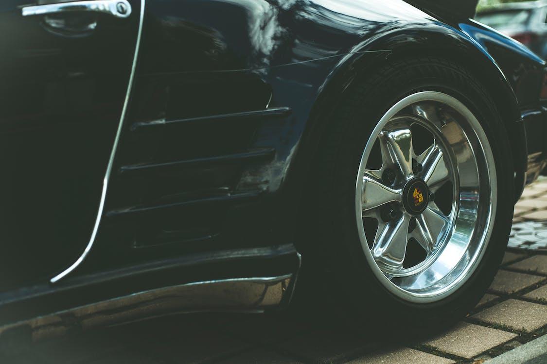 auto, automobil, blatník