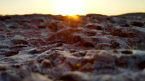 คลังภาพถ่ายฟรี ของ pedras, rocha, ชั่วโมงทอง, ร็อค