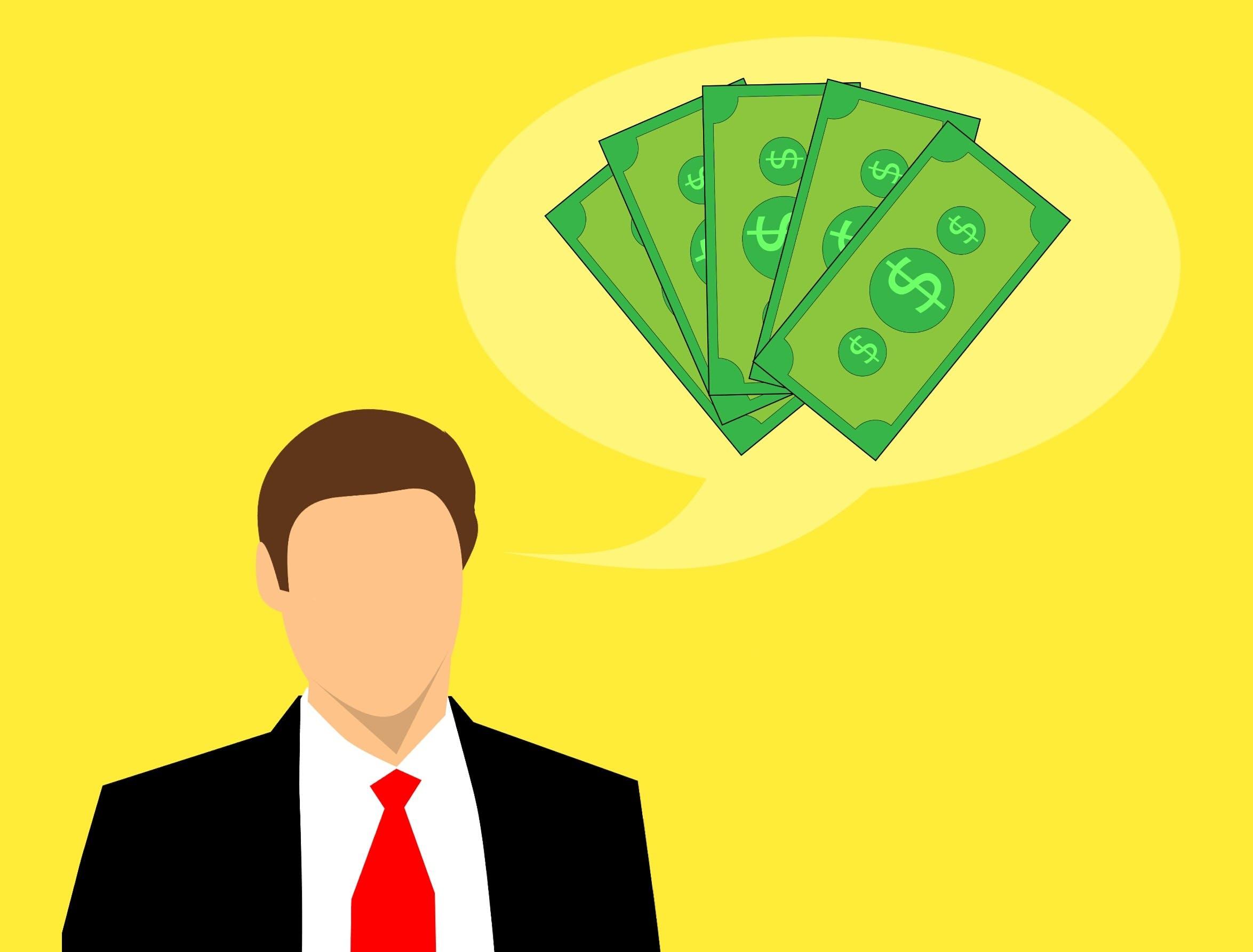 Free stock photo of business, money, thinking, cash