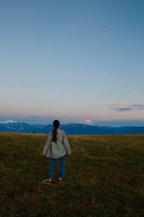 viewofalps, 勃朗峰, 山, 旅行 的 免费素材照片