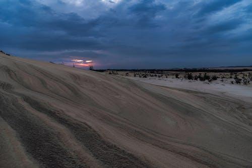 Ingyenes stockfotó homokdűnék, Napkelte témában