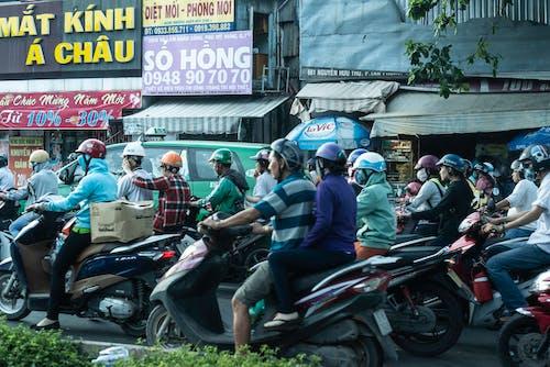 Ingyenes stockfotó forgalom, motorkerékpár témában
