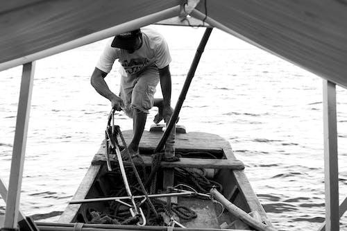 Gratis stockfoto met aan zee, beroep, boot, bootdek